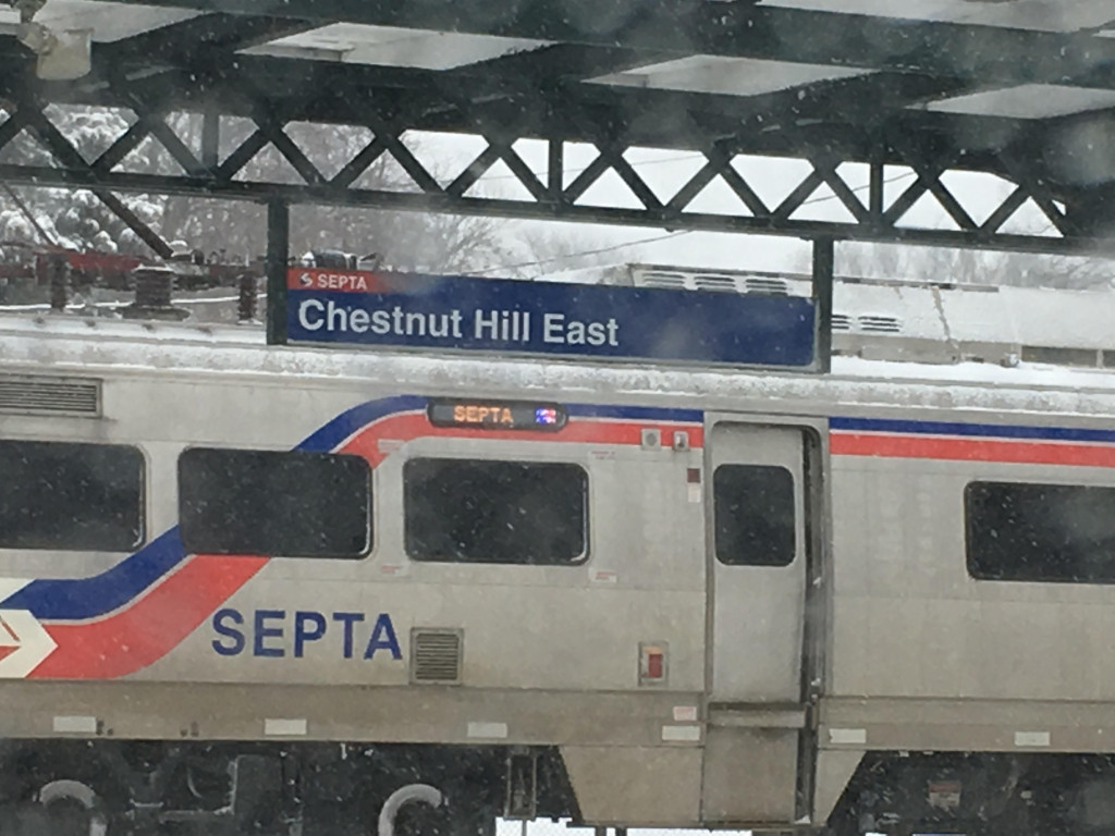 Chesnut Hill station